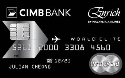 CIMB Enrich World Elite MasterCard