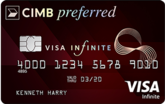 CIMB Preferred Visa Infinite