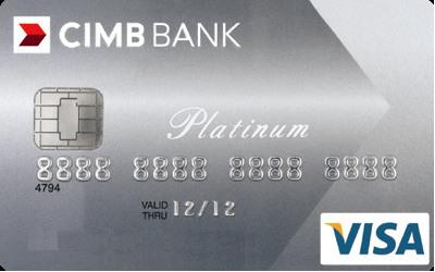CIMB Visa Platinum