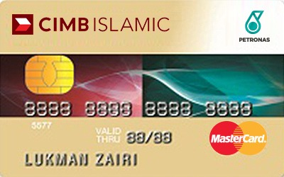 CIMB Islamic Bank Petronas Gold Credit Card