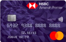 HSBC Amanah Premier World Mastercard® Credit Card-i