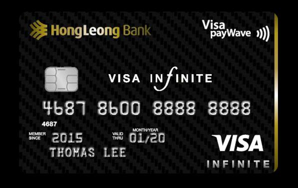 Hong Leong Infinite Visa Card