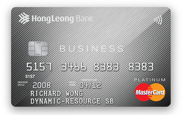 Hong Leong Platinum Business MasterCard