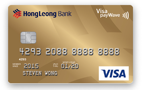 Hong Leong Gold Visa Card