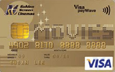 Hong Leong GSC Gold Visa Card