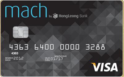 Hong Leong Mach Visa