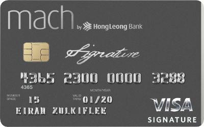 Hong Leong Mach Visa Signature