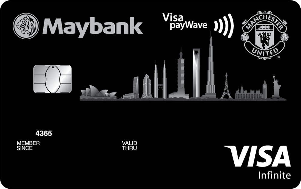 Maybank Manchester United Visa Infinite