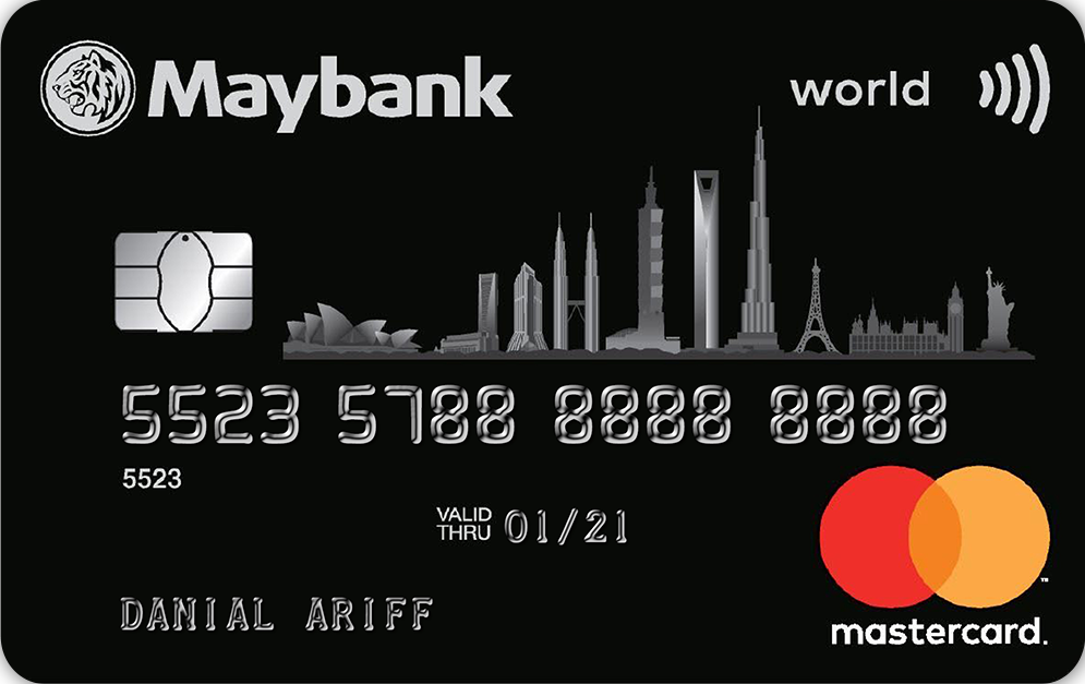 Maybank World MasterCard