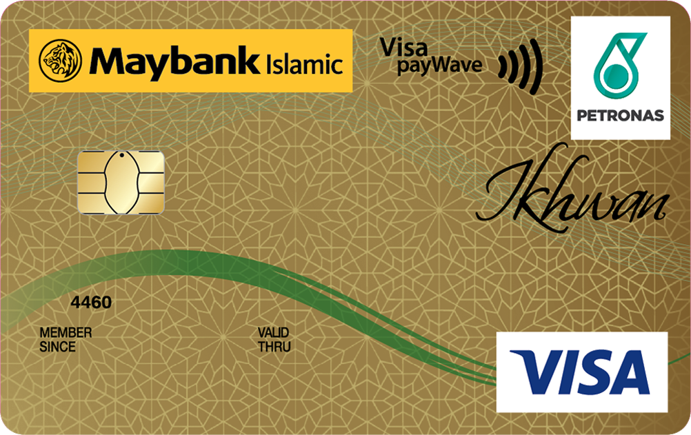 Maybank Islamic PETRONAS Ikhwan Visa Gold Card-i