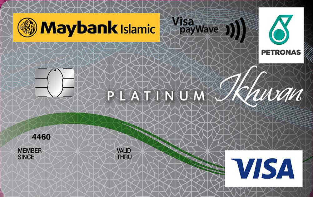 Maybank Islamic PETRONAS Ikhwan Visa Platinum Card-i