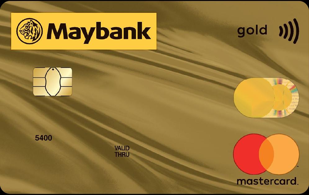 Maybank MasterCard Gold