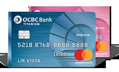 OCBC Titanium MasterCard (Blue/Pink)