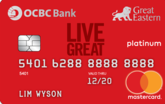 OCBC Great Eastern Platinum MasterCard