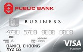 Public Bank Visa Business Card