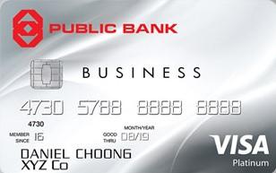 Public Bank Visa Business Card