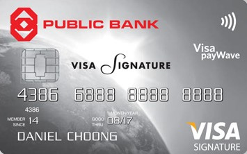 Public Bank Visa Signature Credit Card