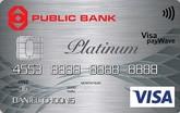 Public Bank Visa Platinum Credit Card