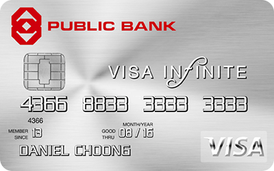 Public Bank Visa Infinite Credit Card
