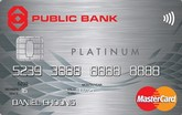 Public Bank Platinum MasterCard Credit Card