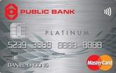 Public Bank Platinum MasterCard Credit Card