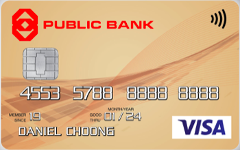 Public Bank Visa Gold Credit Card