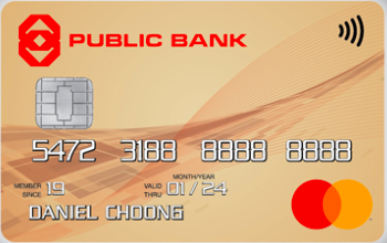 Public Bank Gold MasterCard Credit Card