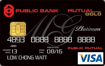Mutual Gold-Public Bank Visa Platinum Credit Card