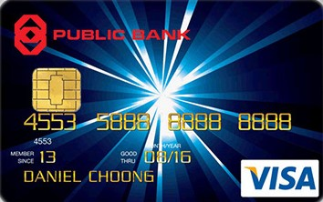 Public Bank Visa Classic Credit Card