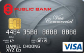 Public Bank Visa Commercial Card