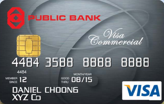Public Bank Visa Commercial Card