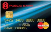 Public Bank MasterCard Standard Credit Card