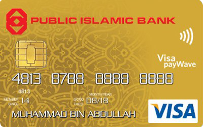 Public Islamic Bank Visa Gold Credit Card-i