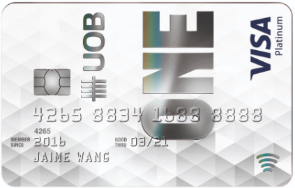 UOB ONE Platinum  Card