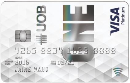 UOB ONE Platinum  Card