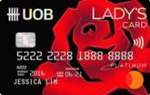 UOB Lady's Platinum MasterCard