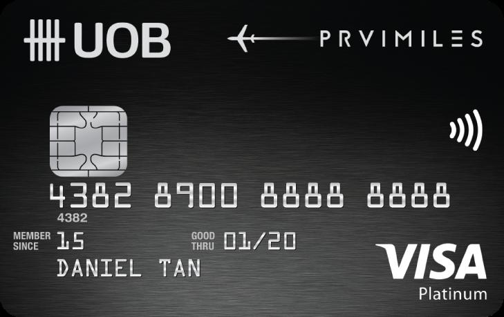 UOB PRVI Miles Visa Platinum