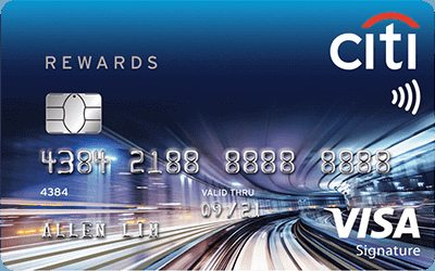 Citi Rewards Visa Signature Card