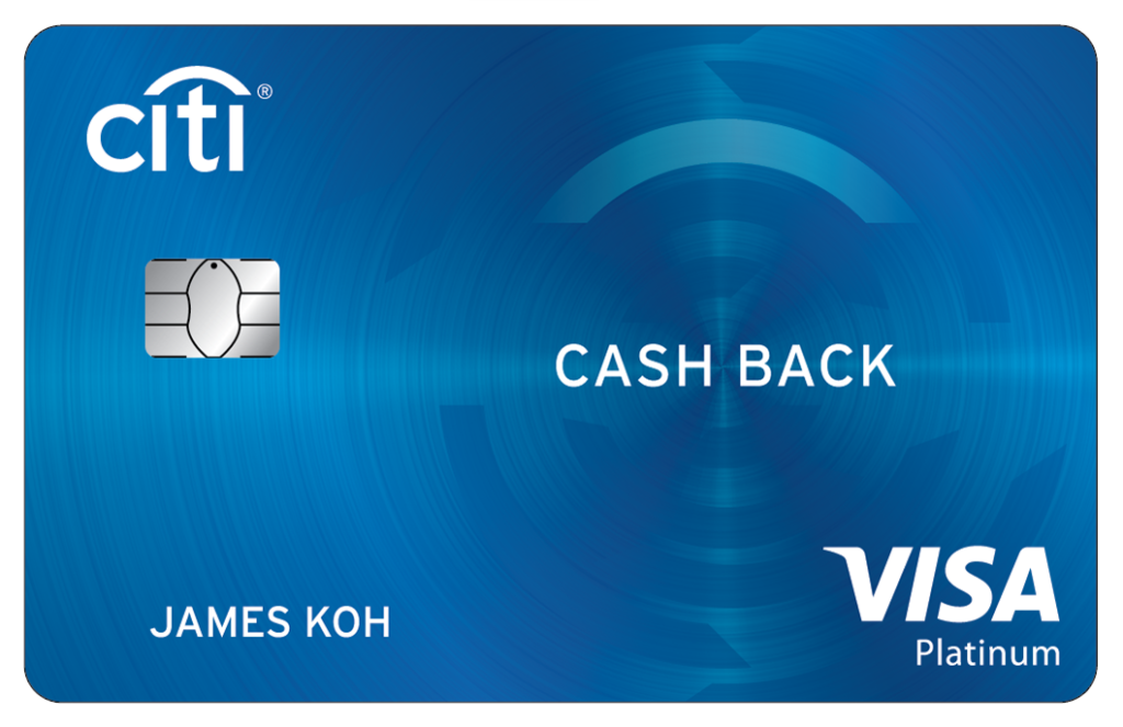 Citi Cash Back Platinum Card