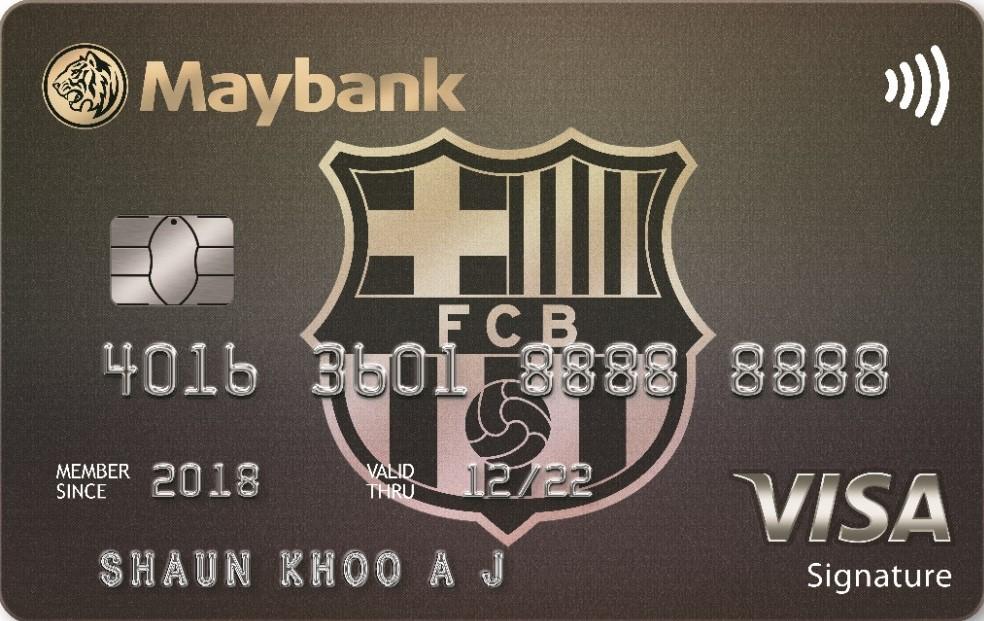 Maybank FC Barcelona Visa Signature