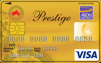 Motorcycle Association Affinity Gold Visa Card