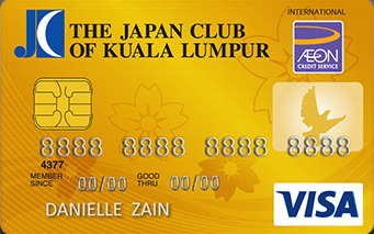 Japan Club of Kuala Lumpur Credit Card