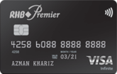 RHB Premier Visa Infinite Credit Card