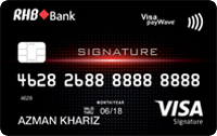 RHB Signature Credit Card