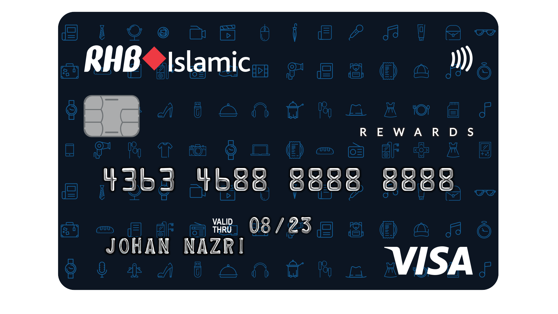 RHB Islamic Rewards Credit Card-i