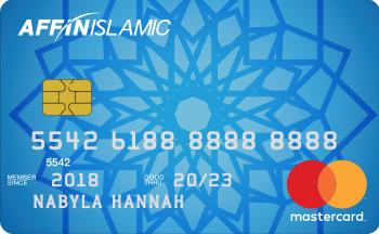 AFFIN ISLAMIC MasterCard Classic