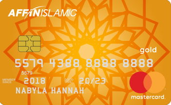 AFFIN ISLAMIC MasterCard Gold