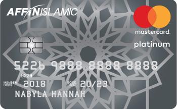 AFFIN ISLAMIC Platinum MasterCard