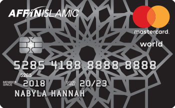 AFFIN ISLAMIC World MasterCard