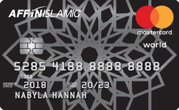 AFFIN ISLAMIC World MasterCard